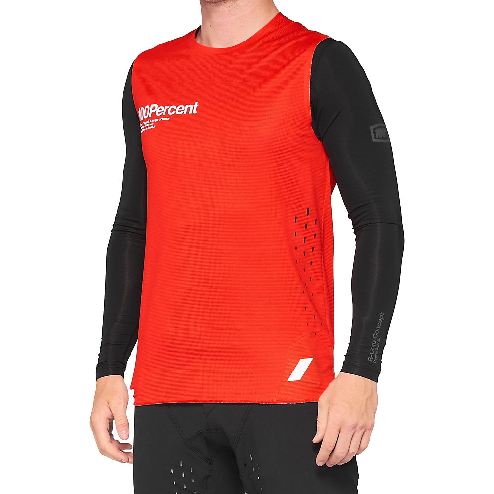 100% R-CORE CONCEPT Jersey 2021 - Red - M, Red