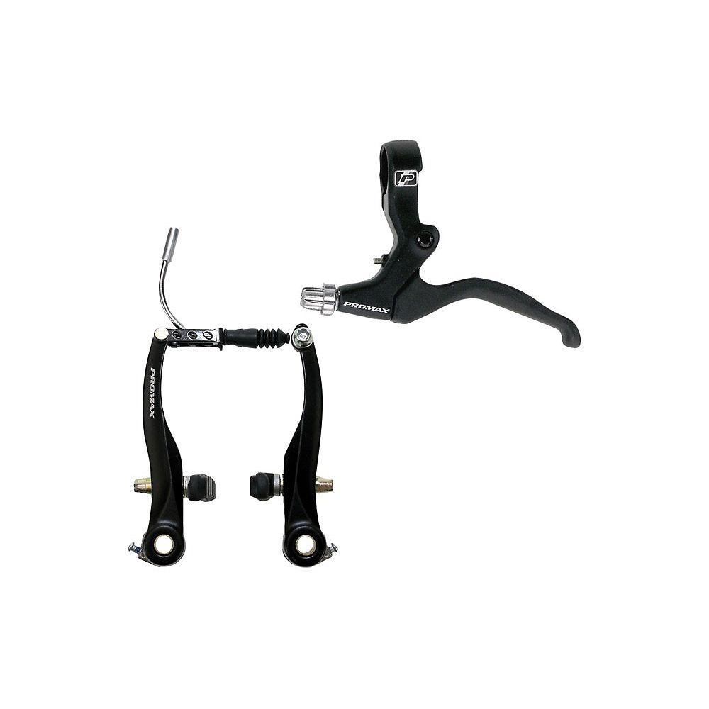 Promax V-brake Set - Black - Pair  Black