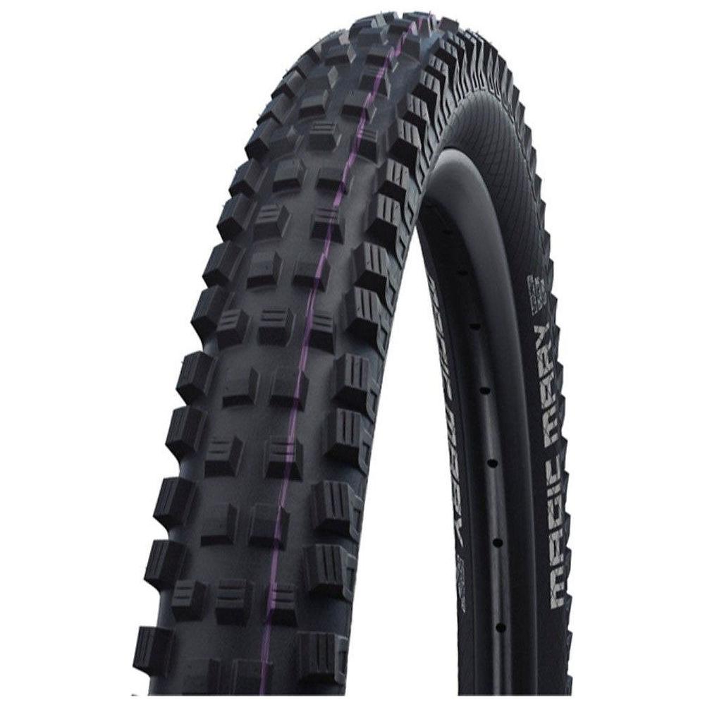 Schwalbe Magic Mary Evo Super Gravity MTB Tyre - Black Purple - Addix Ultra Soft, Black Purple