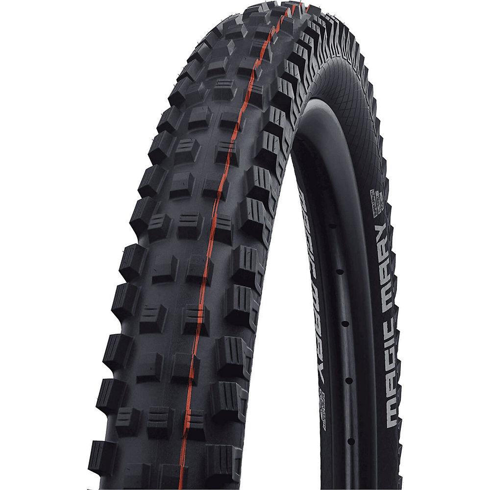 Schwalbe Magic Mary Evo Super Gravity MTB Tyre - Black Soft Orange - Addix Soft, Black Soft Orange