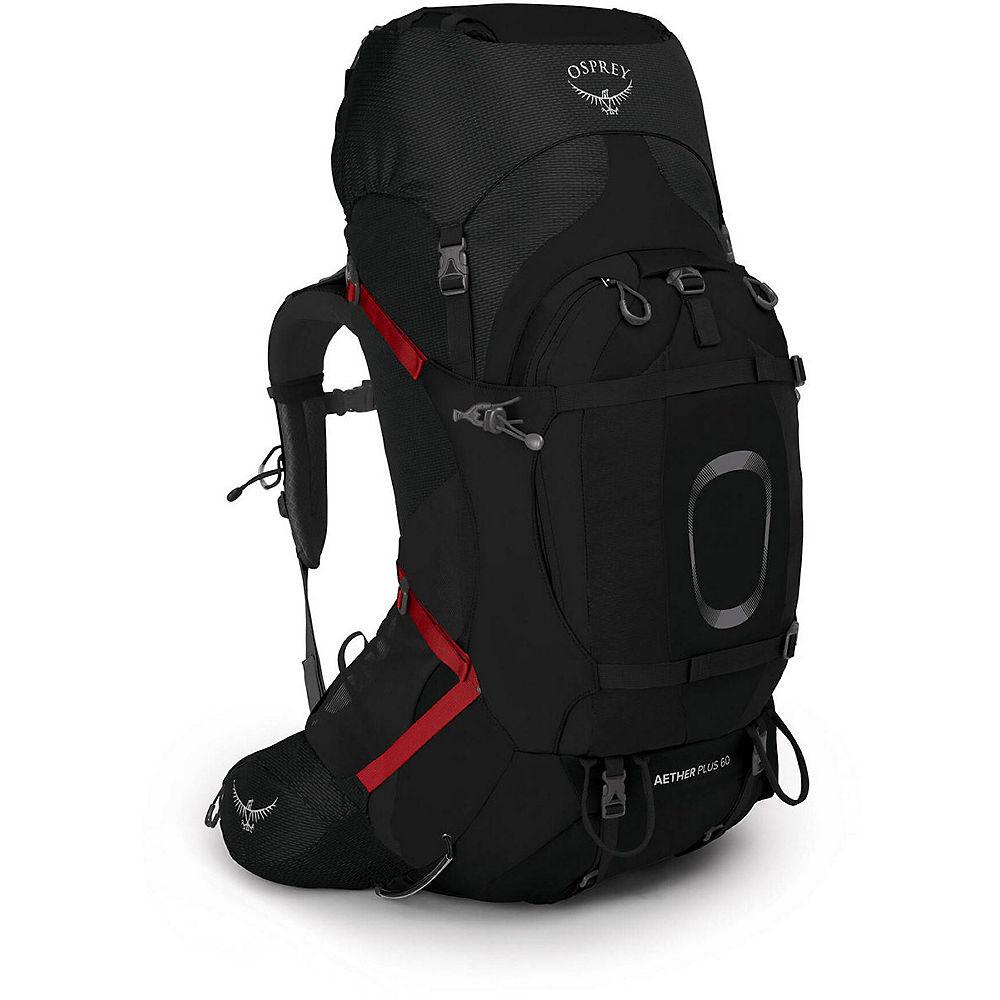 Osprey Aether Plus 60 Backpack SS21 - Negro - Large/Extra Large, Negro