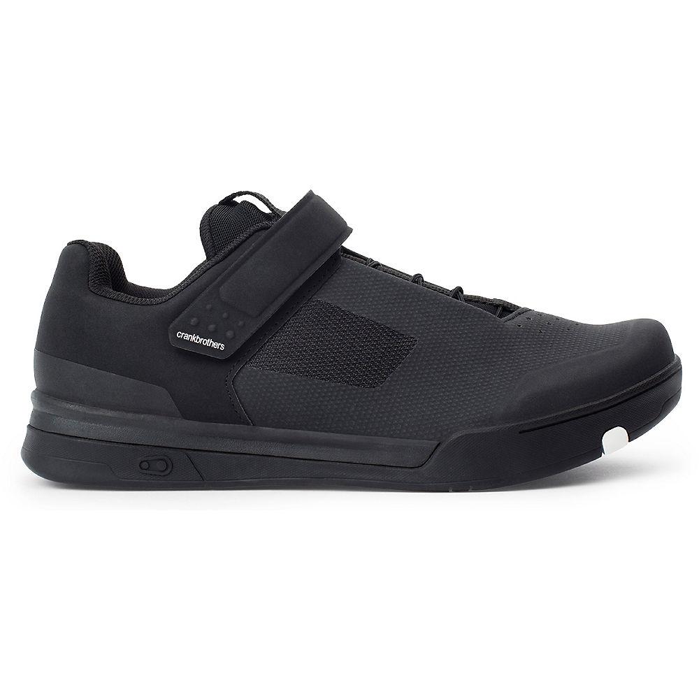 crankbrothers Mallet Speedlace  MTB Clipless Shoe 2021 - Black - White - UK 9, Black - White
