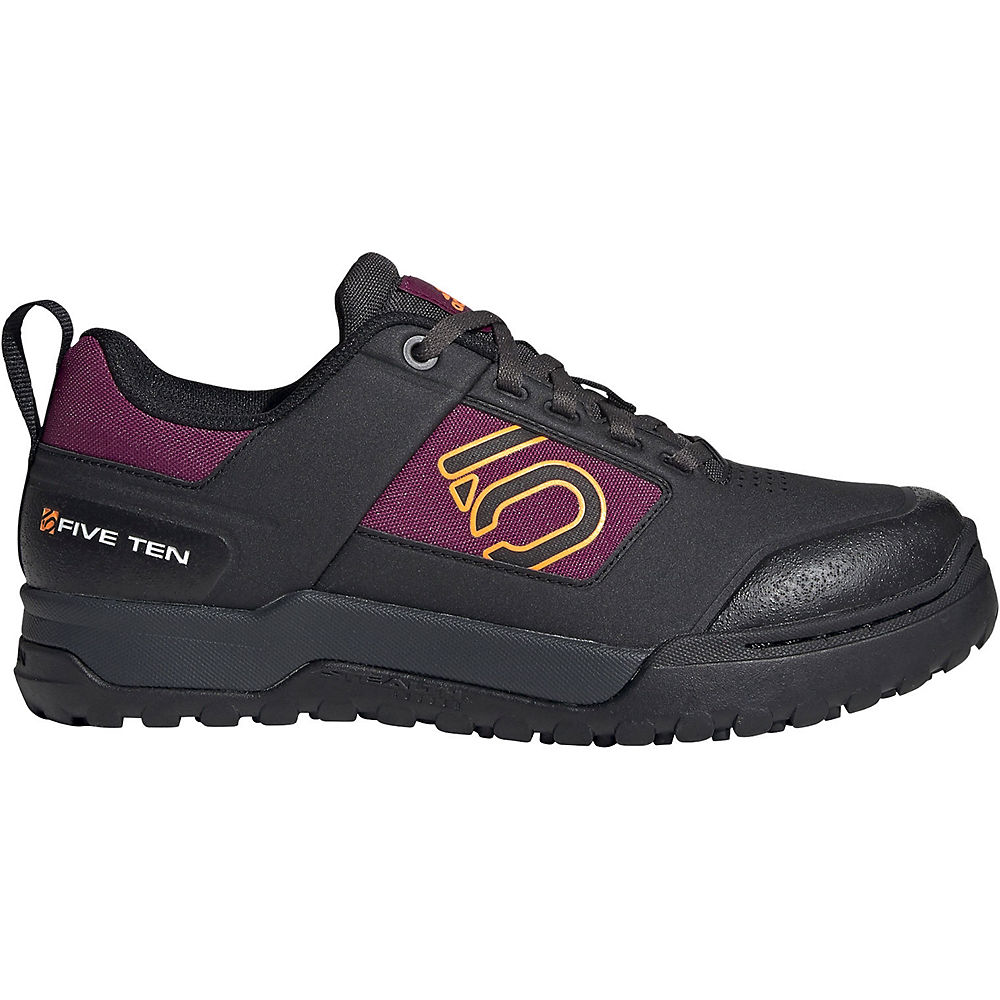 Five Ten Women's Impact Pro MTB Shoes 2020 - Black-Orange-Berry - UK 8, Black-Orange-Berry