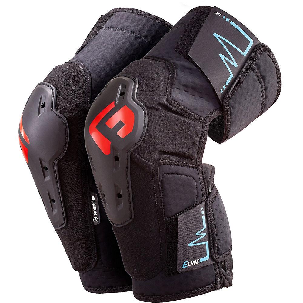 G-Form E-Line Knee 2021 - Black - XL, Black