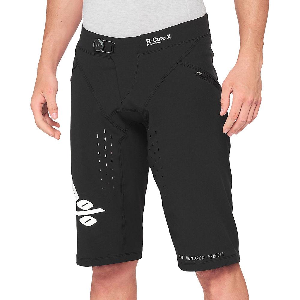 100% R-Core X Shorts Black 2021 - M, Black