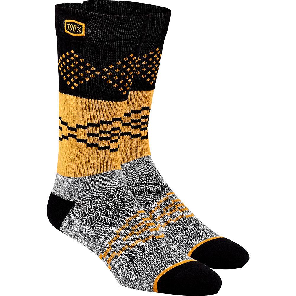 100% Antagonist Casual Socks  - Grey - S/M, Grey
