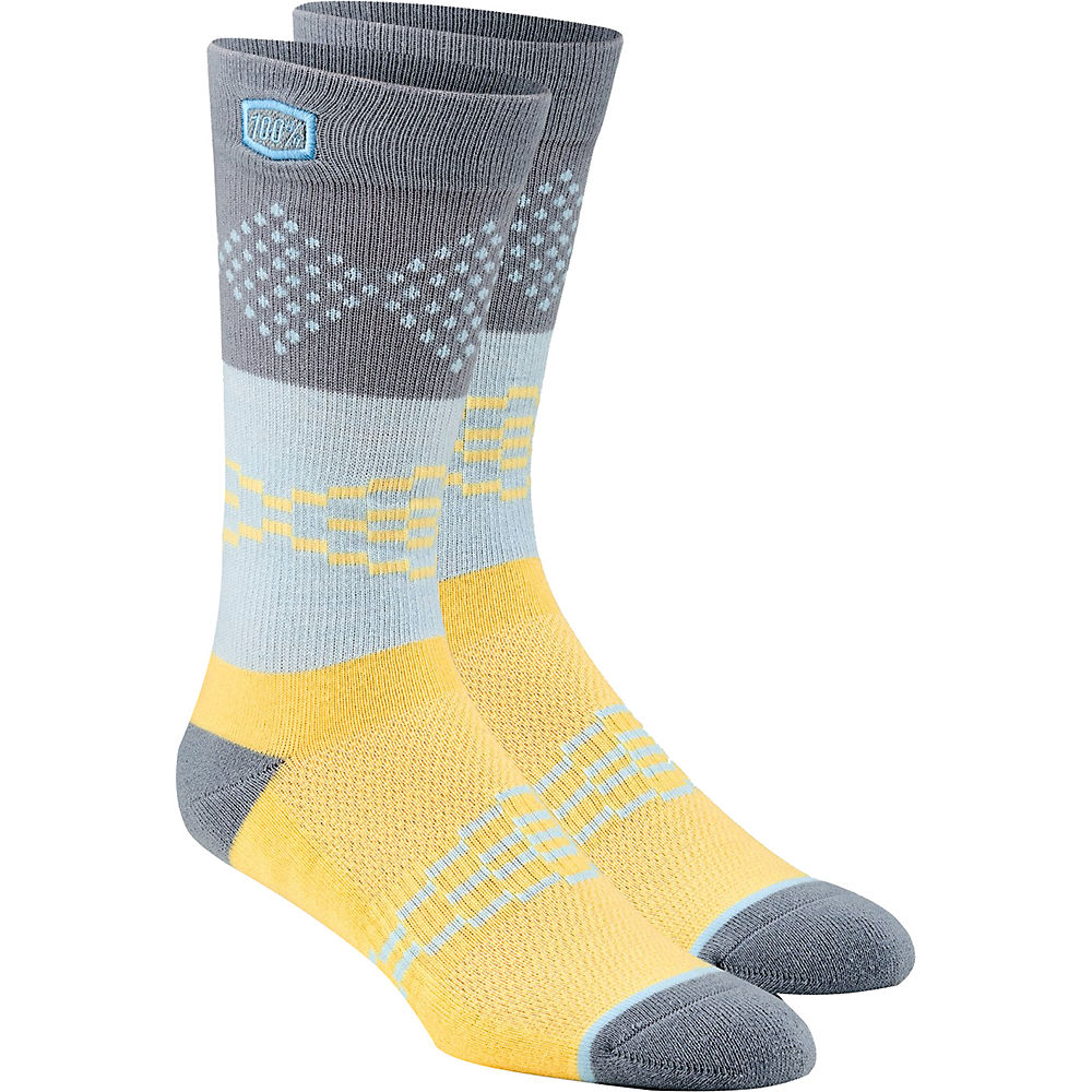 100% Antagonist Casual Socks  - Yellow - L/XL/XXL, Yellow