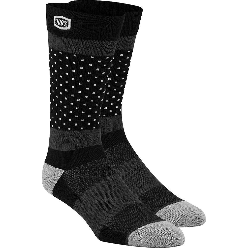 100% Opposition Casual Socks  - Black - S/m  Black
