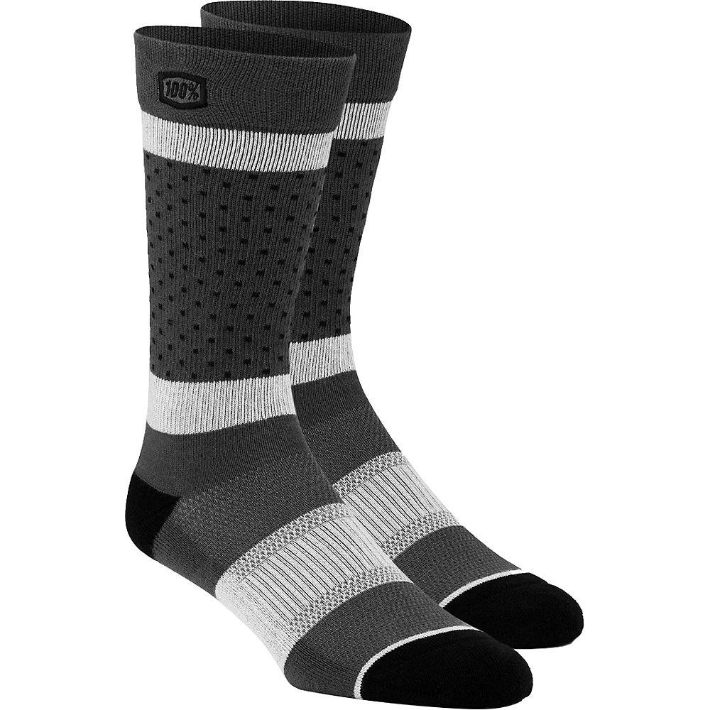 100% Opposition Casual Socks  - Grey - L/XL/XXL, Grey