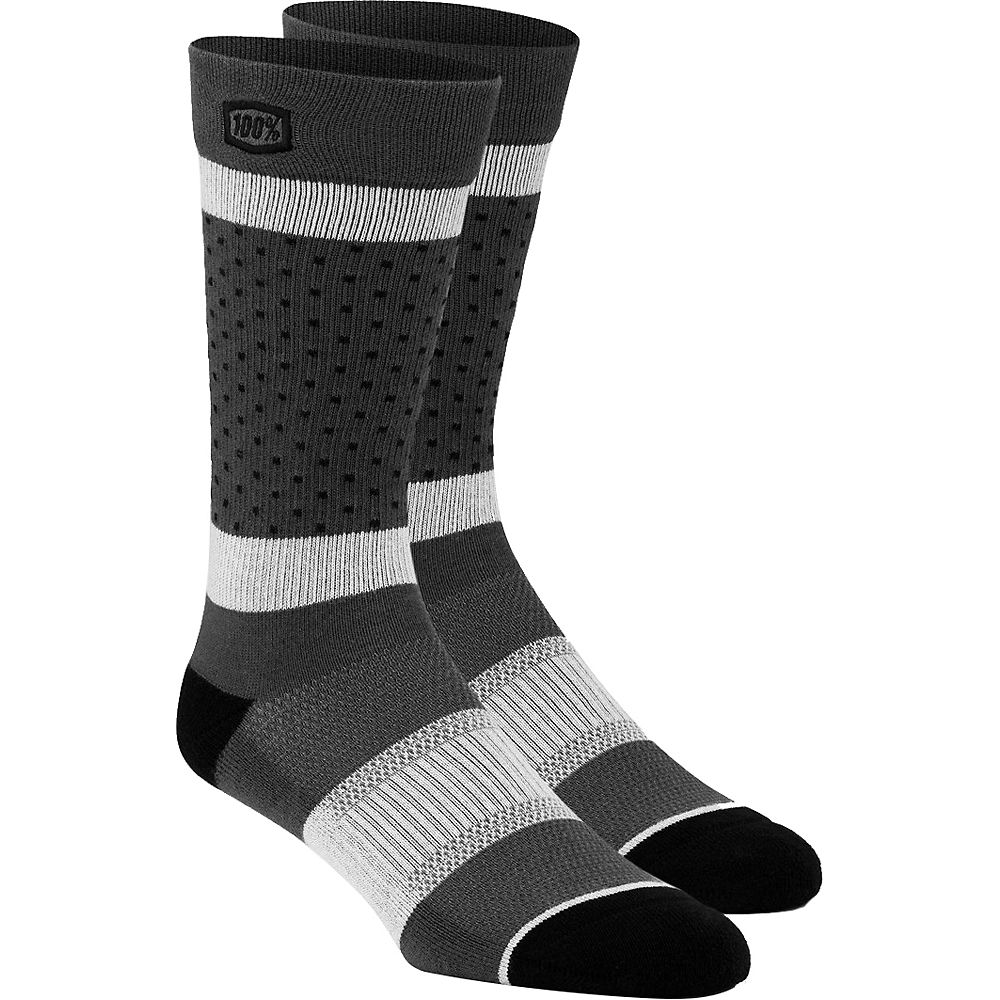 100% Opposition Casual Socks  - Grey - S/m  Grey