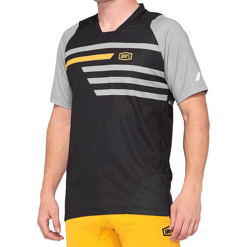 100% Airmatic Shorts  - Charcoal - 38  Charcoal