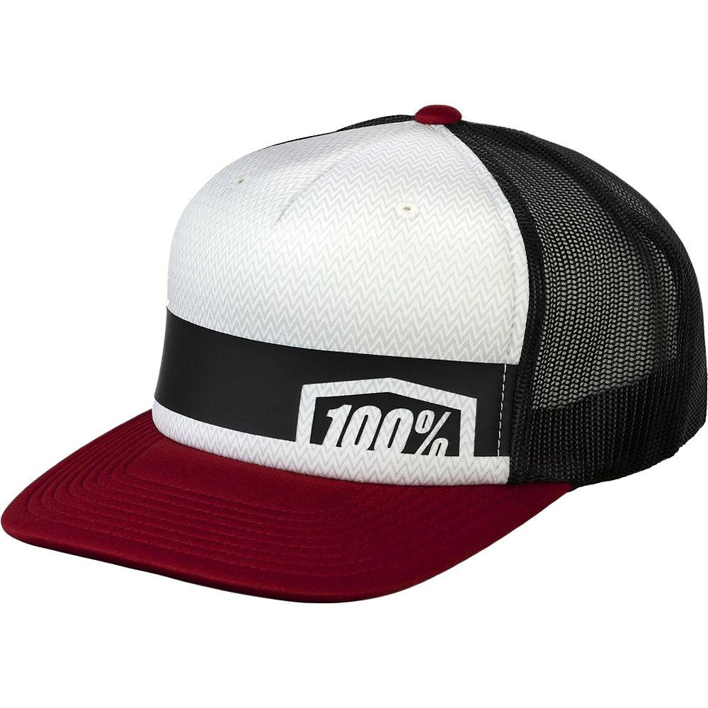 100% Quest Trucker Hat  - Brick - One Size, Brick