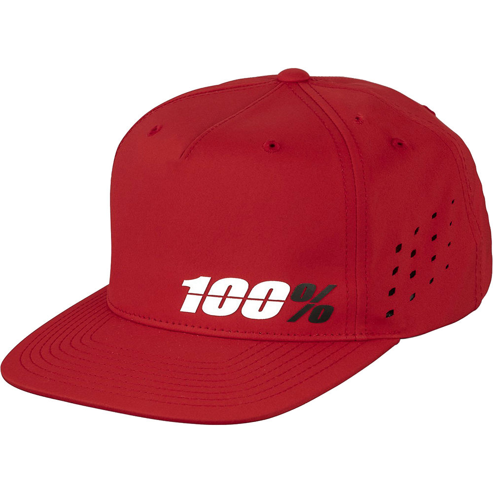 100% Ozone Snapback Hat  - Red - One Size, Red