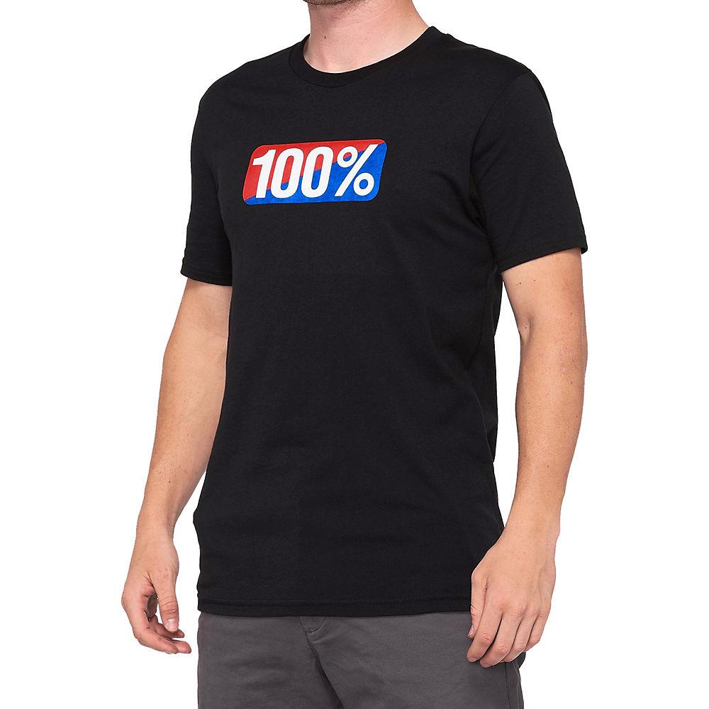 100% Classic T-Shirt  - Black, Black