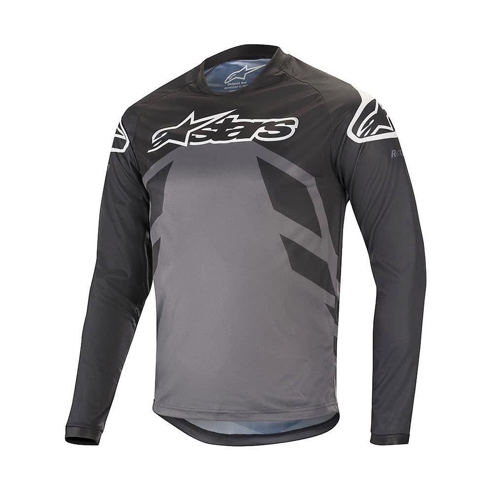 Alpinestars Racer V2 Ls Jersey  - BLACK ANTHRACITE GRAY, BLACK ANTHRACITE GRAY