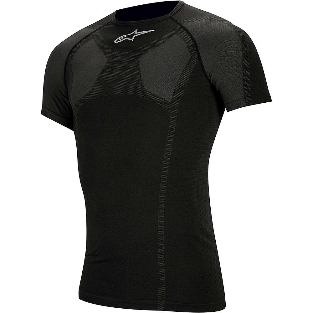 Alpinestars MTB Tech Top Short Sleeve Underwear  - Black - XXL/XXXL, Black