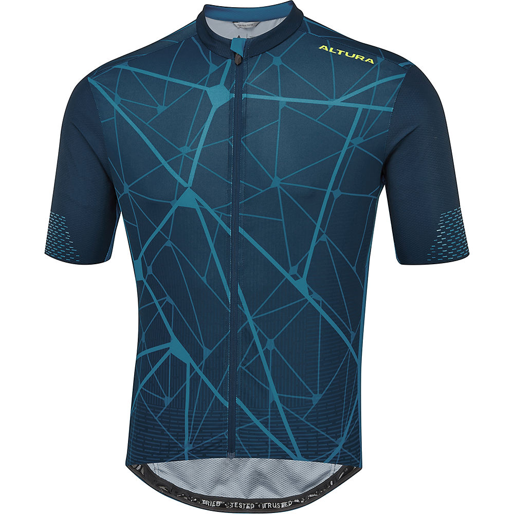 Altura Icon Jersey Bamboo 2021 - Blue - XL, Blue