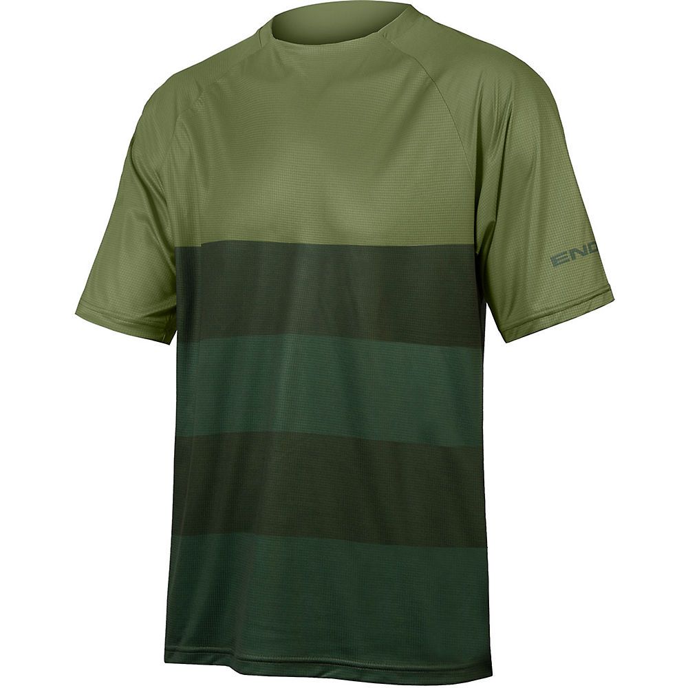Endura Singletrack Core T MTB Jersey - Olive Green, Olive Green