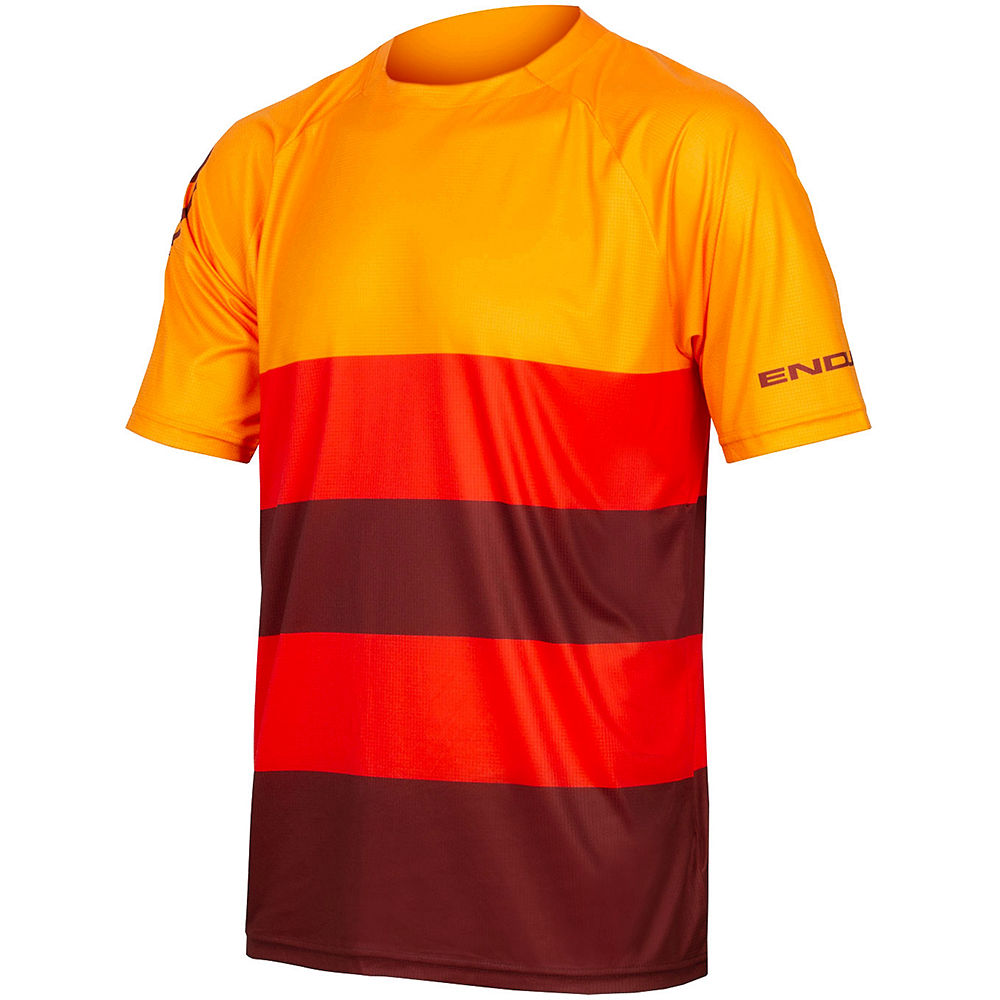 Endura Singletrack Core T MTB Jersey SS21 - Orange - XL, Orange