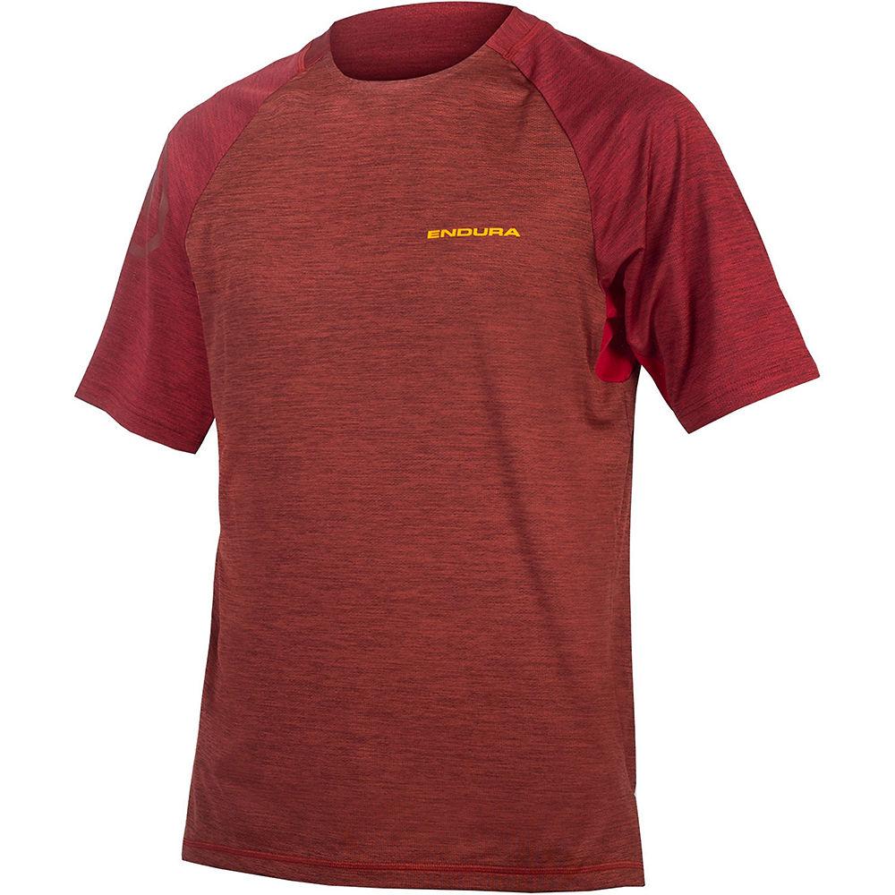 Endura Singletrack Short Sleeve MTB Jersey - Cocoa - XXL, Cocoa