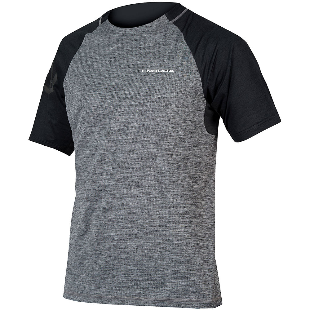 Endura Singletrack Short Sleeve MTB Jersey - Pewter Grey - XXL, Pewter Grey