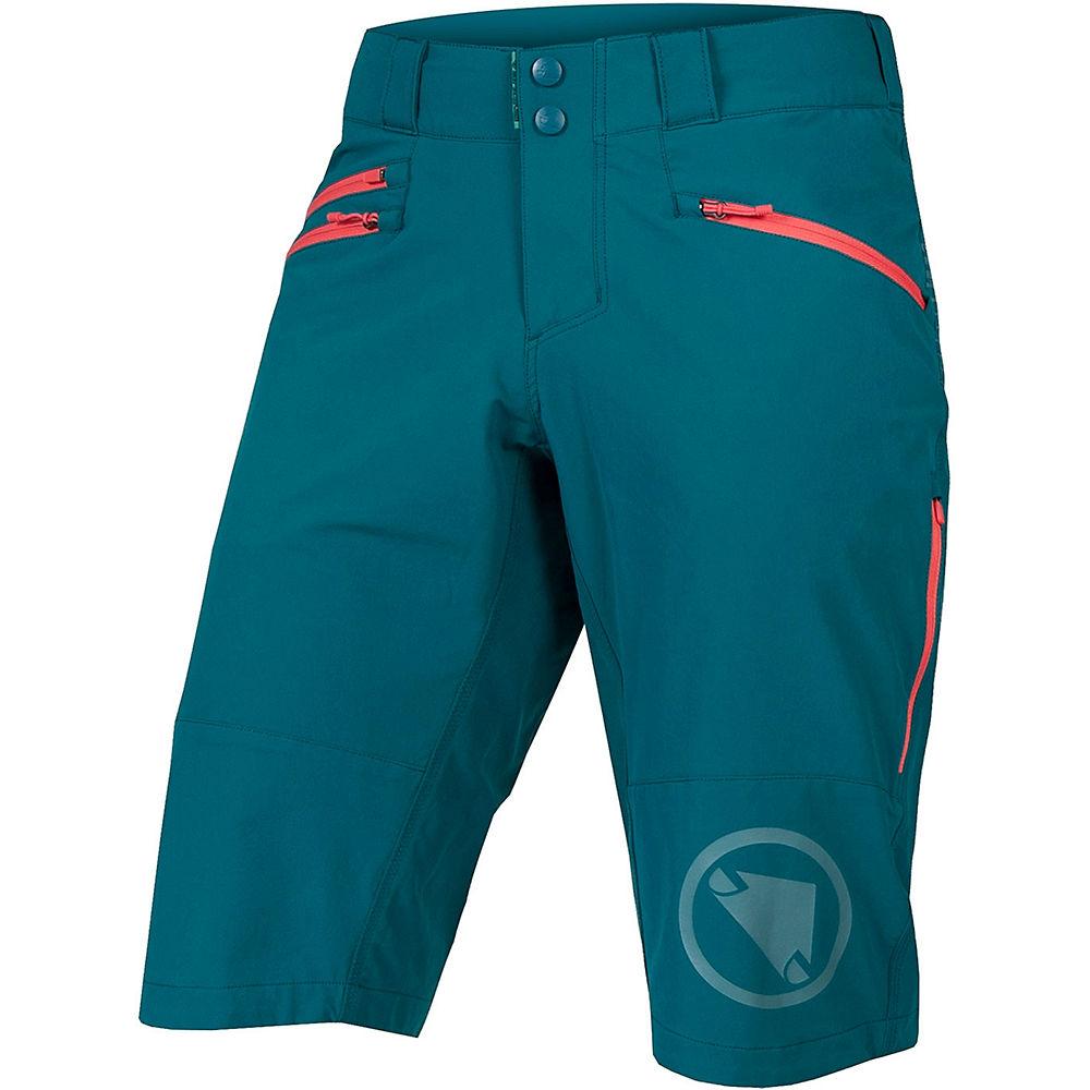 Image of Endura Womens SingleTrack II Shorts SS21 - Spruce Green - XL, Spruce Green