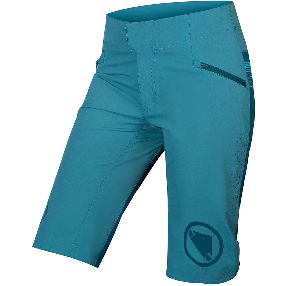 Endura Women's SingleTrack Lite Shorts 0 - Blue, Blue