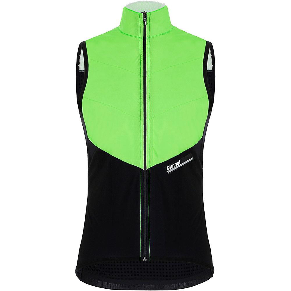 Santini Redux Vigor Vest 2021 - Flashy Green - XL, Flashy Green