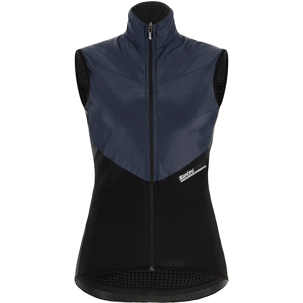Santini Women's Stamina Vest 2021 - Negro - XL, Negro