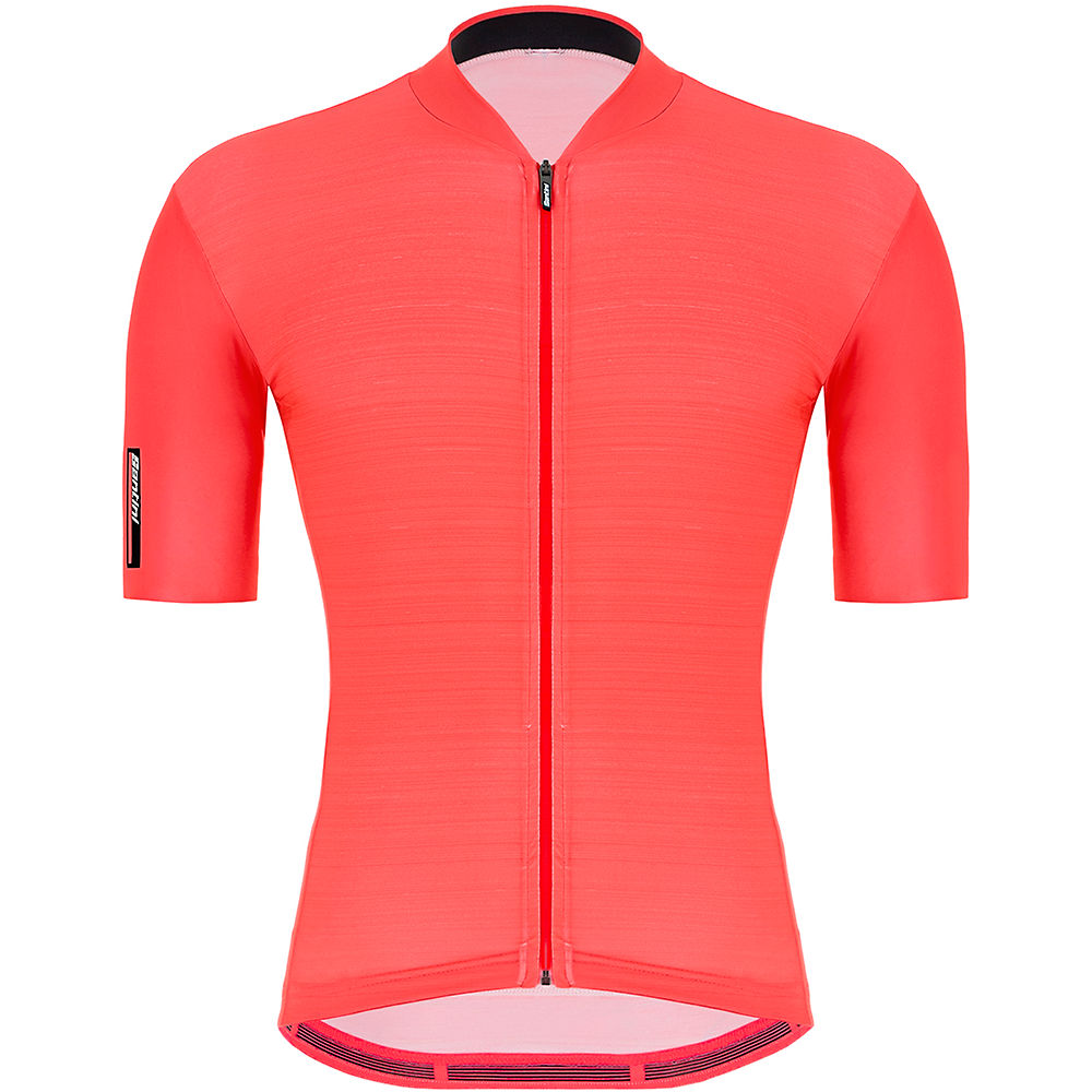 Morvelo Fanzine Thermoactive Long Sleeve Jersey  - Red-black  Red-black
