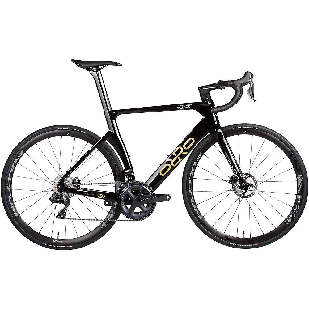 Orro Venturi STC 8020 R400 Road Bike (2021) 2021 - Black - Gold Gloss, Black - Gold Gloss