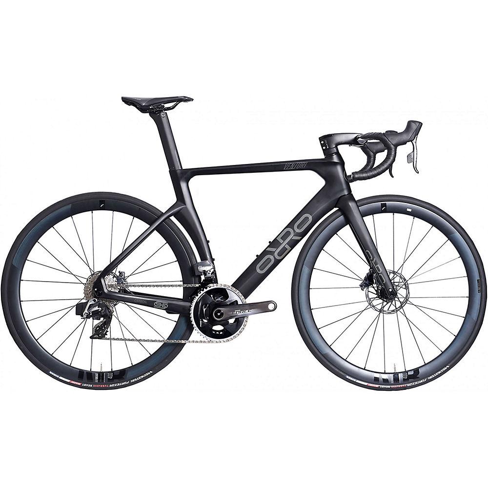 Orro Venturi STC Force eTap Airbeat Road Bike 2021 - Stealth, Stealth