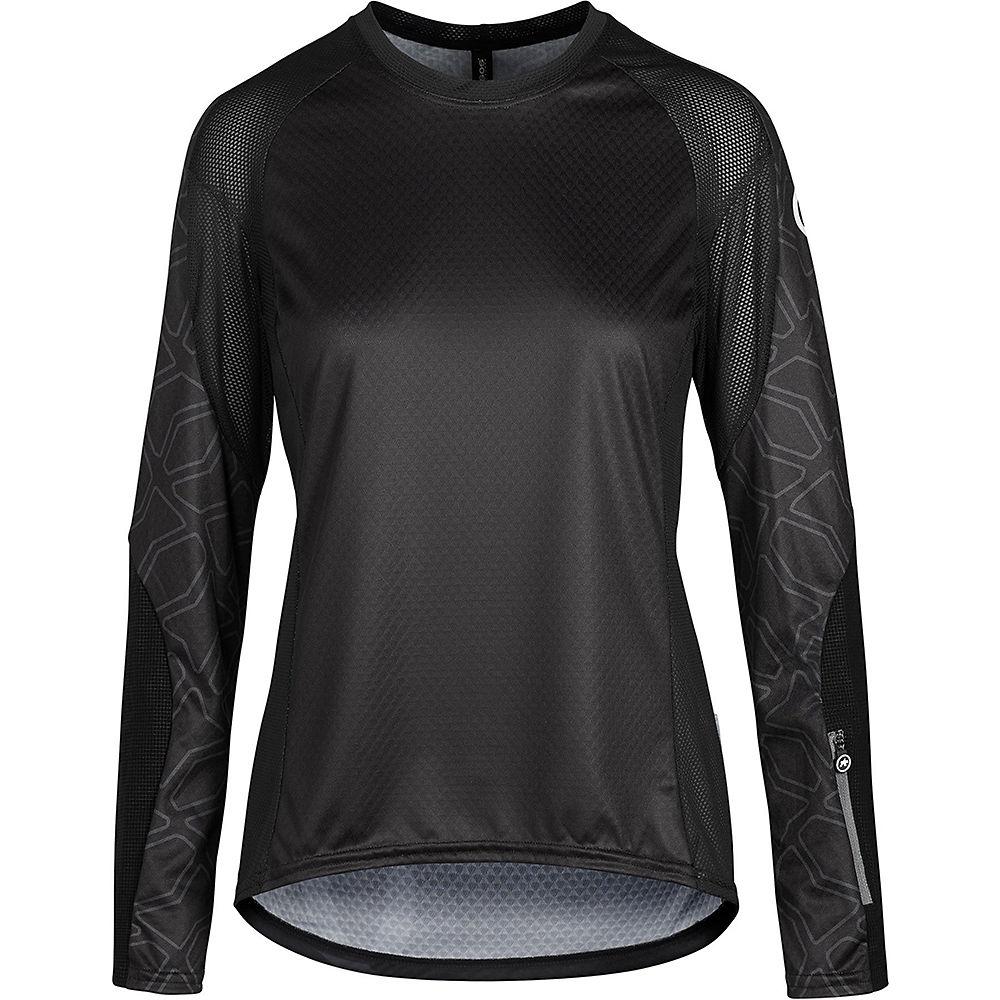 Assos Women's TRAIL Long Sleeve Jersey 2021 - Black Series, Black Series