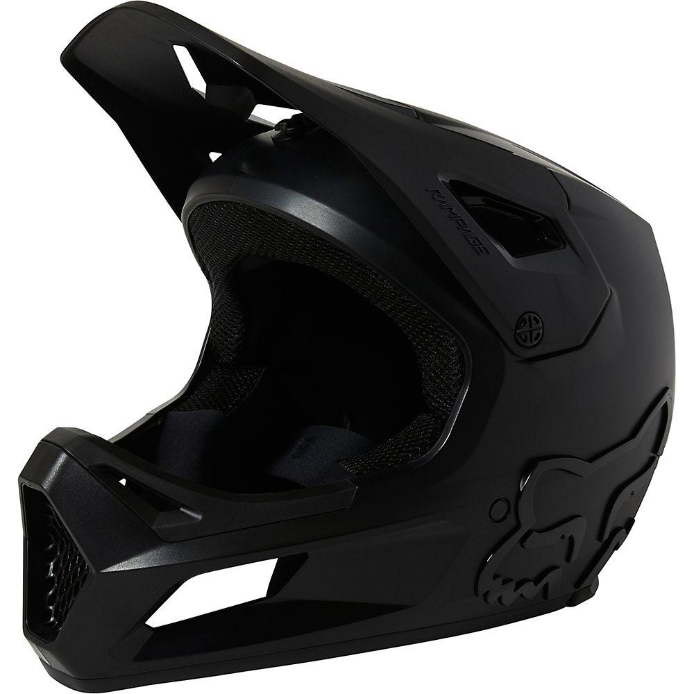 Fox Racing Youth Rampage MTB Helmet 2021 - Black - S, Black