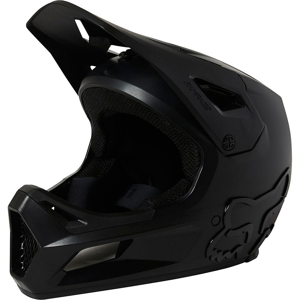 Fox Racing Rampage Full Face MTB Helmet 2021 - Black - XL, Black