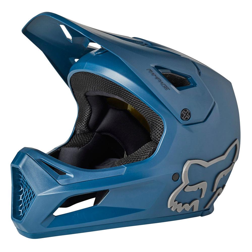 Fox Racing Rampage Full Face MTB Helmet 2021 - Dark Indigo, Dark Indigo
