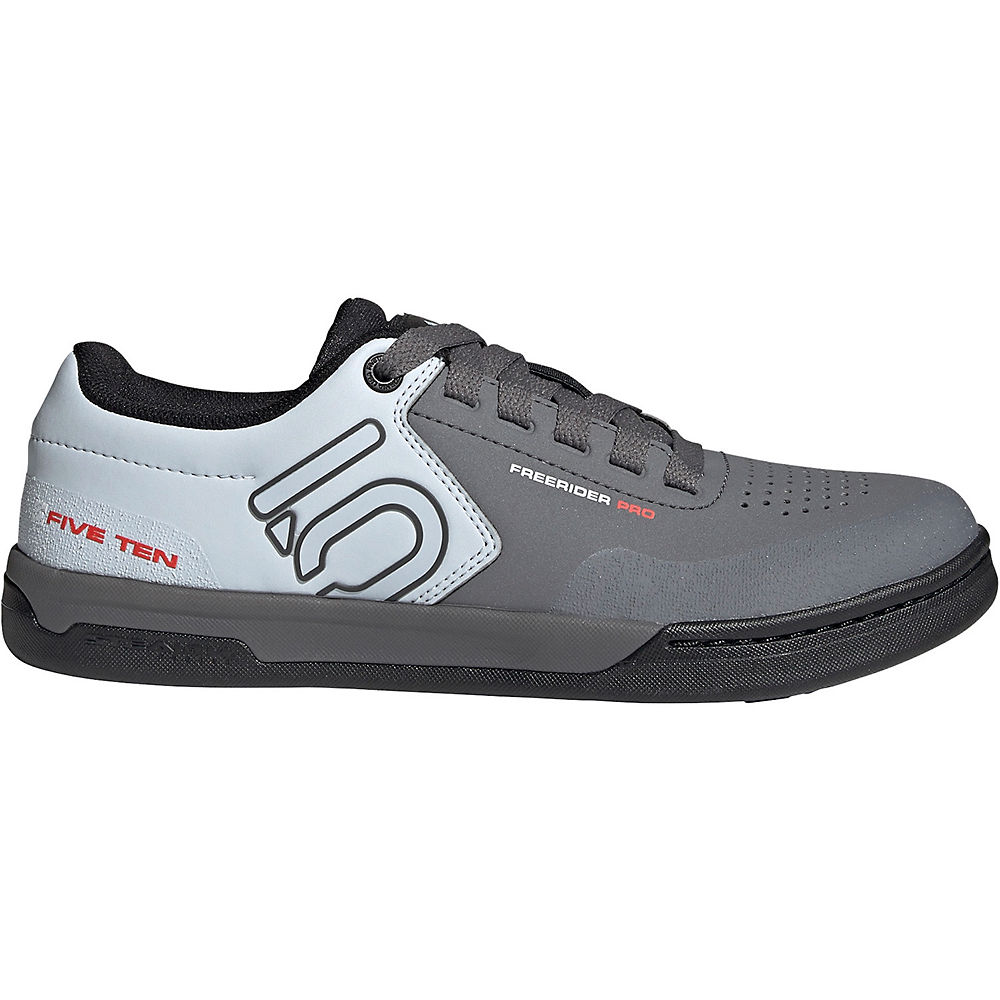 Five Ten Freerider Pro Mtb Shoes 2021 - Grey-white-blue - Uk 9  Grey-white-blue