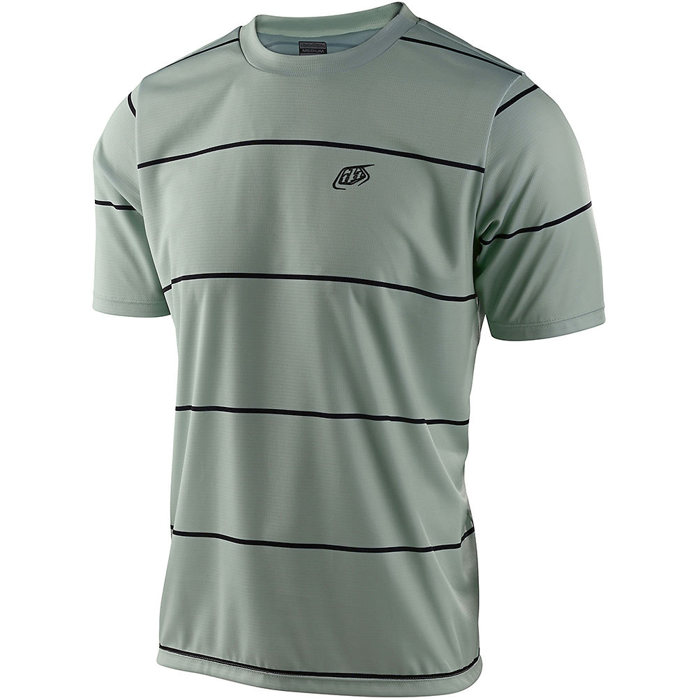 Troy Lee Designs Flowline Ss Jersey Stacked 2021 - Stacked Smoke Green - Xxl  Stacked Smoke Green