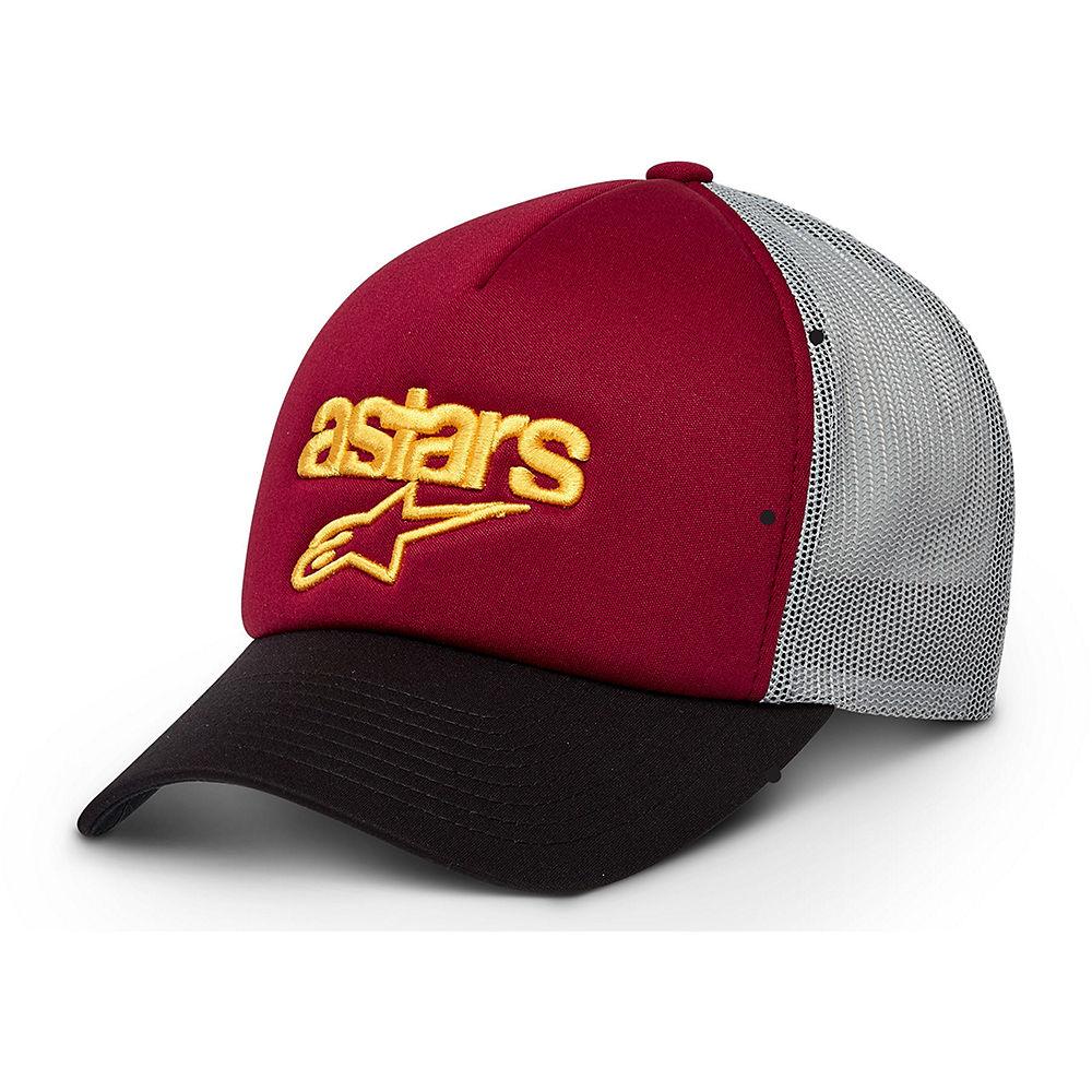 Alpinestars Viable Trucker Hat - Red, Red