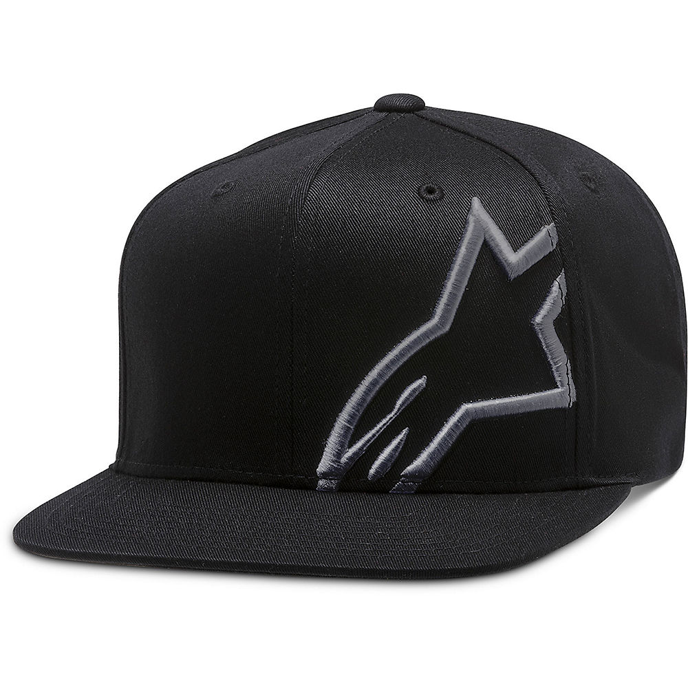 Alpinestars Corp Snap Hat  - Black-charcoal  Black-charcoal
