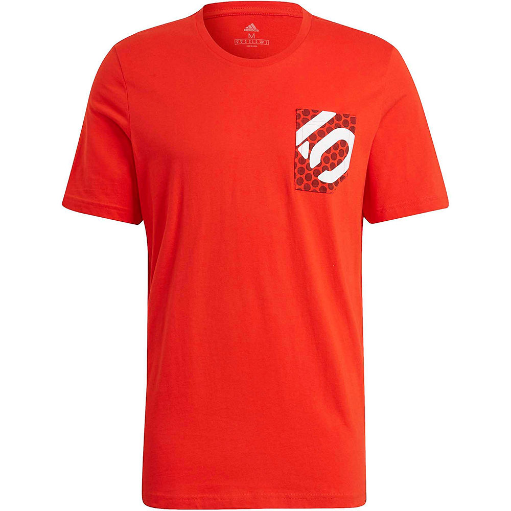 Five Ten Brand Of The Brave Tee SS21 - Red - XXL, Red