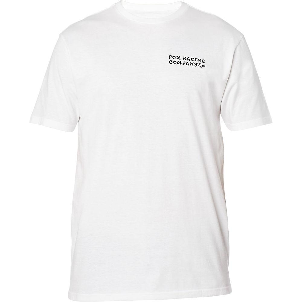 Fox Racing Death Wish Premium T-shirt  - White - Xxl  White