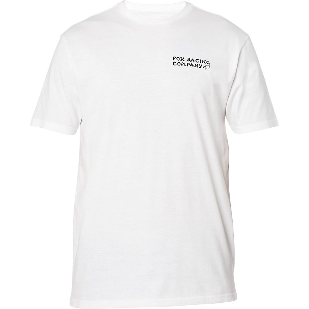 Fox Racing Death Wish Premium T-shirt  - White - L  White