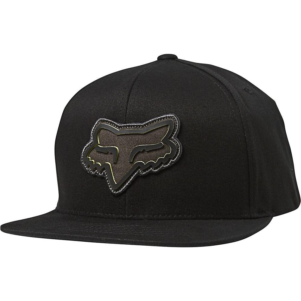 Fox Racing Gasket Snapback Hat  - Black  Black