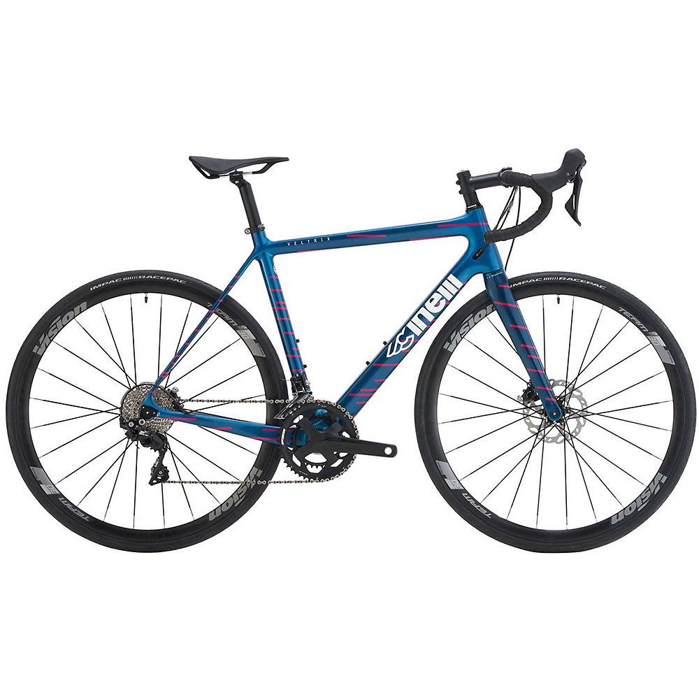 Cinelli Veltrix Disc 105 Road Bike 2021 - Blue - 56cm (22)  Blue