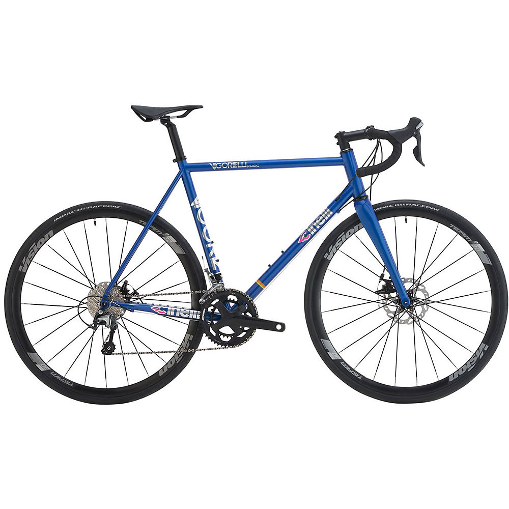 Cinelli Vigorelli Road Disc Tiagra Bike 2021 - Blue - 53.5cm (21)  Blue