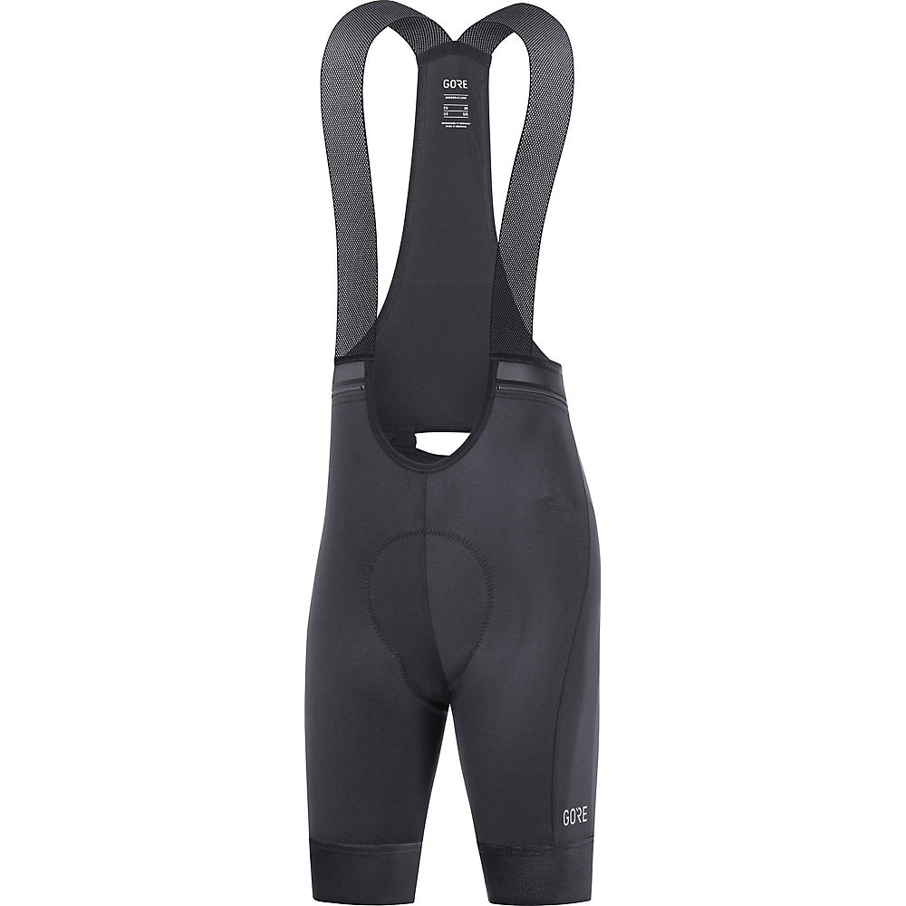 Gore Wear Womens Force Cycling Bib Short (plus) Ss21 - Black - Xs  Black