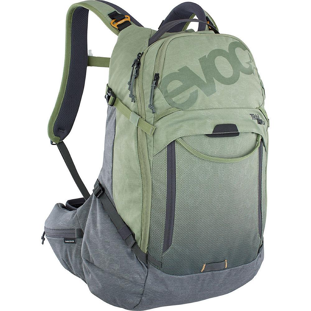 Evoc Trail Pro 16 Backpack SS21 - Light Olive-Carbon Grey - L/XL, Light Olive-Carbon Grey