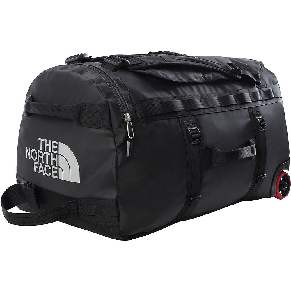 The North Face Base Camp Duffel Roller SS21 - TNF Black, TNF Black