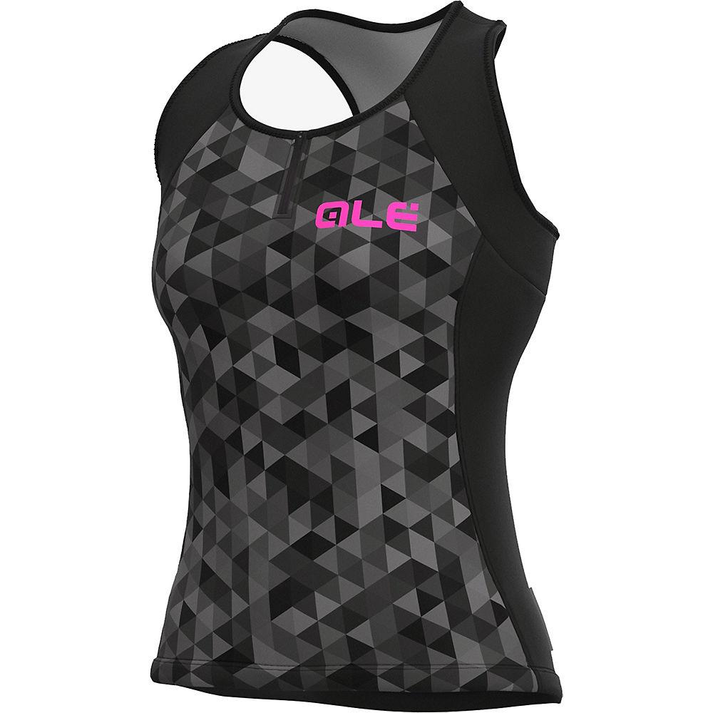 Al Solid Mc Climb Jersey - White-black - Xl  White-black